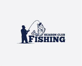 fishing logo badge
