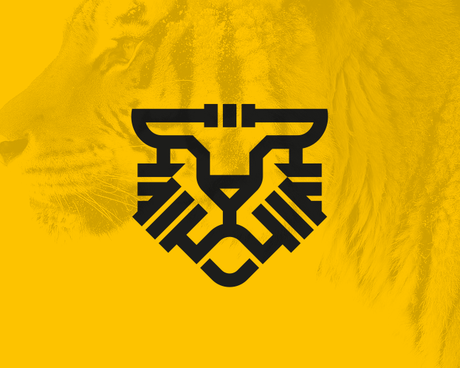 Abstract Tiger Logo (for sale)