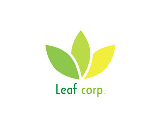 Logopond - Logo, Brand & Identity Inspiration (Leaf Corp.)