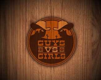 Guys VS Girls Event Logo