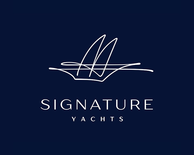 Signature Yacht Logo 📌 Logo for Sale