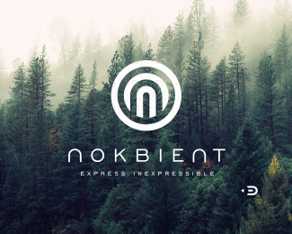 logo for nokbient by ©Edoudesign