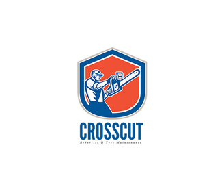 Crosscut Tree Maintenance Logo