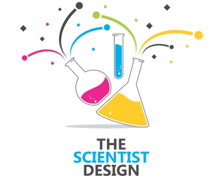 Scientist Design Logo