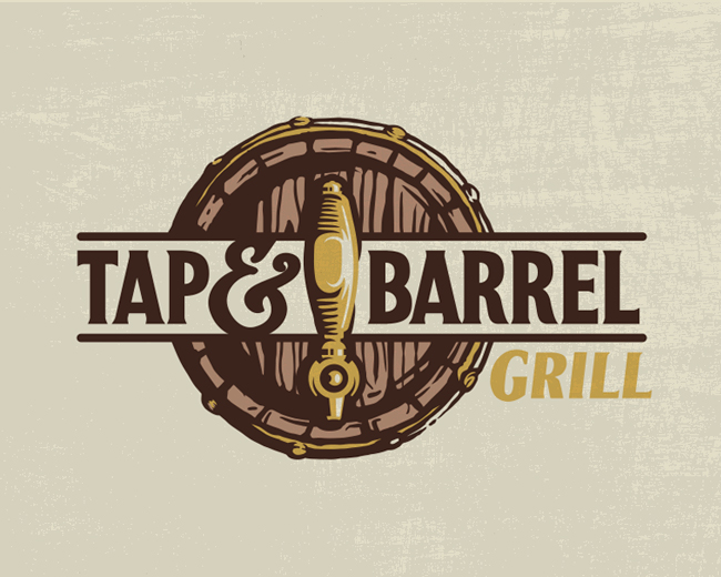 Tap and Barrel Logo