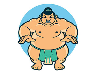Angry sumo