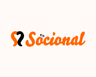A logo for social Website
