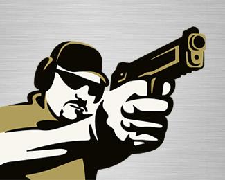 Target Shooting Logo - Logos & Graphics