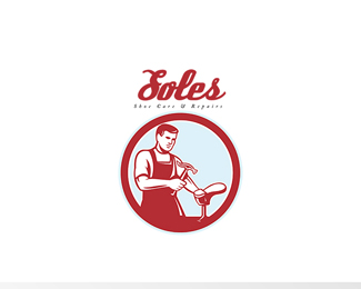 Soles Shoe Repair Logo