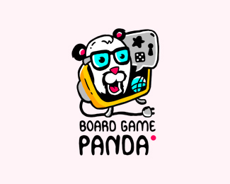 Board Game Panda Logo