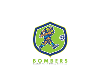 Bombers Football Athletic Association Logo
