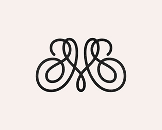 M-monogram for Micha