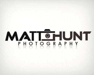 Stylish photography logos
