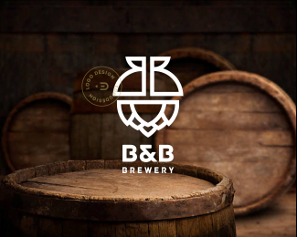 B&B Brewery by ©Edoudesign