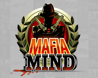 Mafia Mind Logo Design