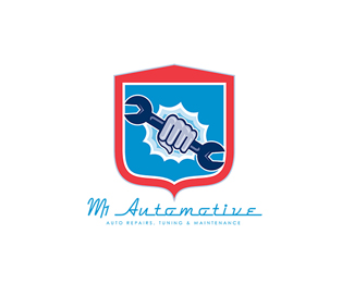 MR Automotive Repairs Logo