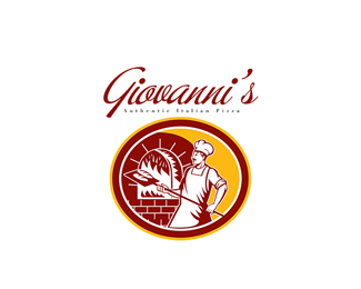 Giovanni's Authentic Italian Logo