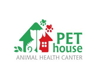 Logopond Logo Brand Identity Inspiration Pet House Animal Health Care Logos For Sale