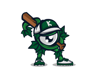 Kudzu Vine Mascot Illustration