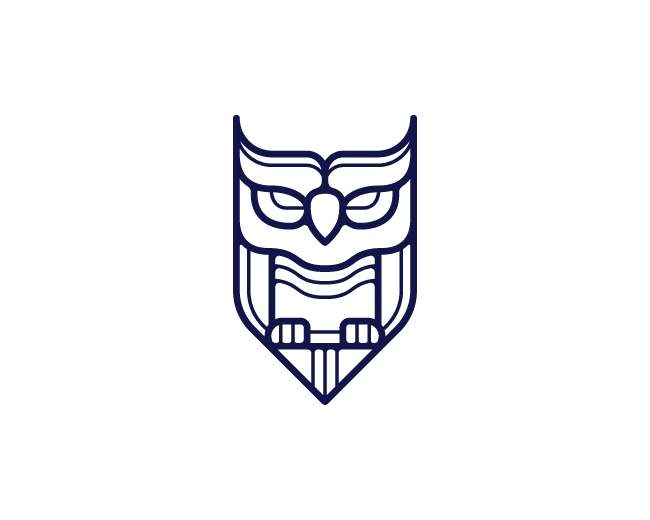 Shieldshaped owl
