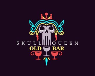 Skull Queen Old Bar