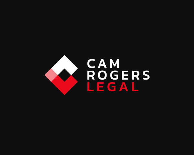 Cam Roger Legal brand identity