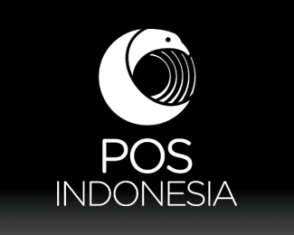 Pos Indonesia logo redesign competition entry bw v