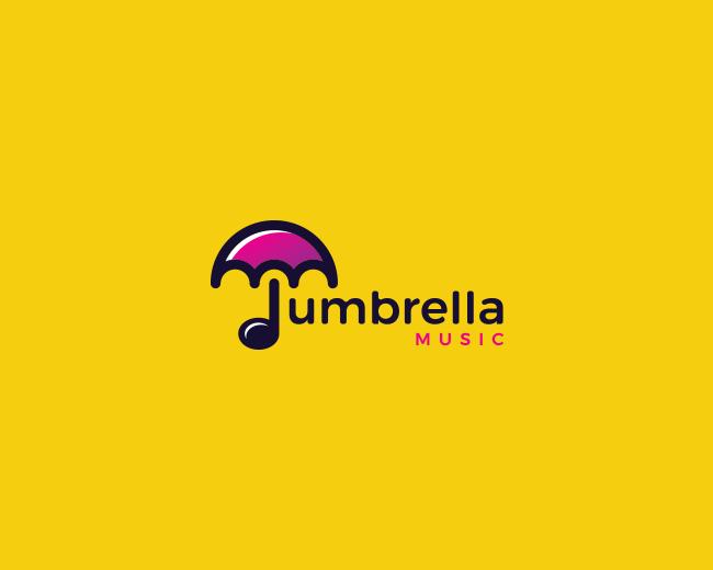 logopond logo brand identity inspiration umbrella