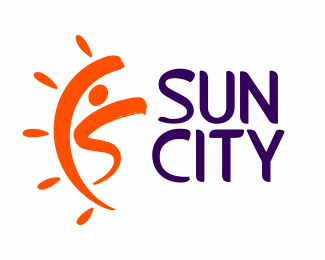 Logotype for dance center Sun city