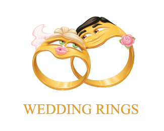 wedding rings logo