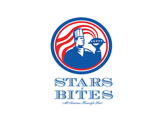 Stars Bites All American Homestyle Food Logo