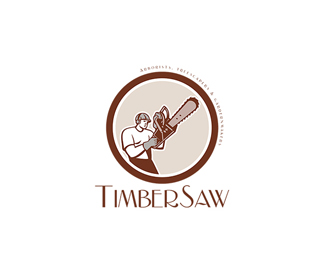 Timbersaw Arborists and Treescapers Logo