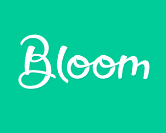 Bloom - Handlettering