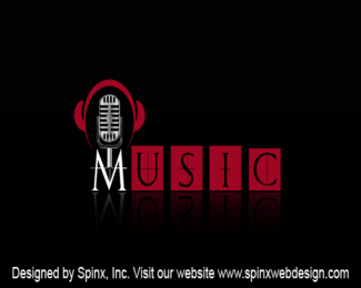 Excellent logo design for your music world website