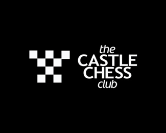 The Chess Club logo design