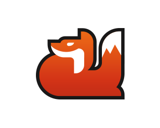 Cute Fox Logo Design