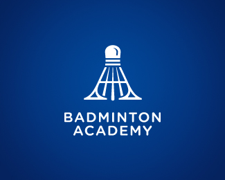 Logo design inspiration #30 - Badminton Academy by Dalius Simanavicius