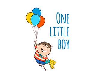 One little boy