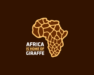 Africa is home of Giraffe