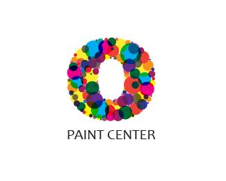 Paint brush logo on interior design logos ideas