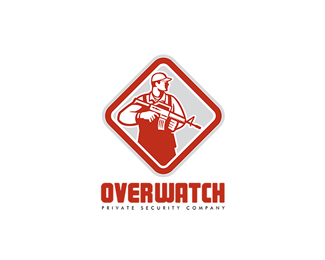 Overwatch Private Security Company Logo