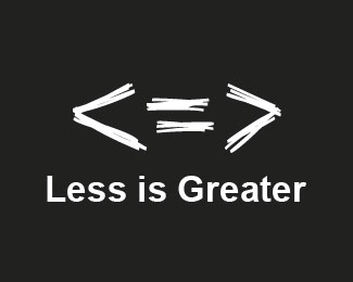 Less is Greater