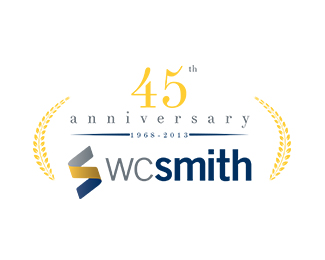 WC Smith Anniversary Logo