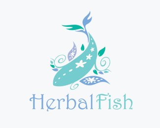 Herbal Fish Logos for Sale