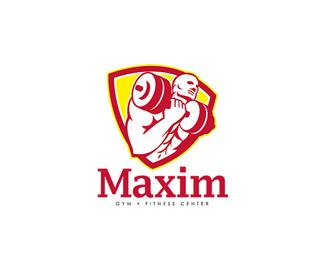 Logopond - Logo, Brand & Identity Inspiration (Maxim Gym Fitness ...