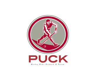 Puck Hockey News Logo