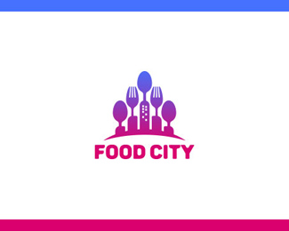 Food City Logo Template