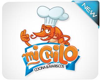 DeviantArt: More Like Logotipo Mariscos del Golfo by fercho0