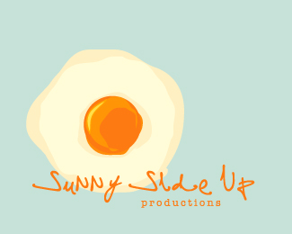 sunny side up & two fired eggs