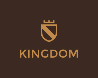 Kingdom - Shield & Crown Logo